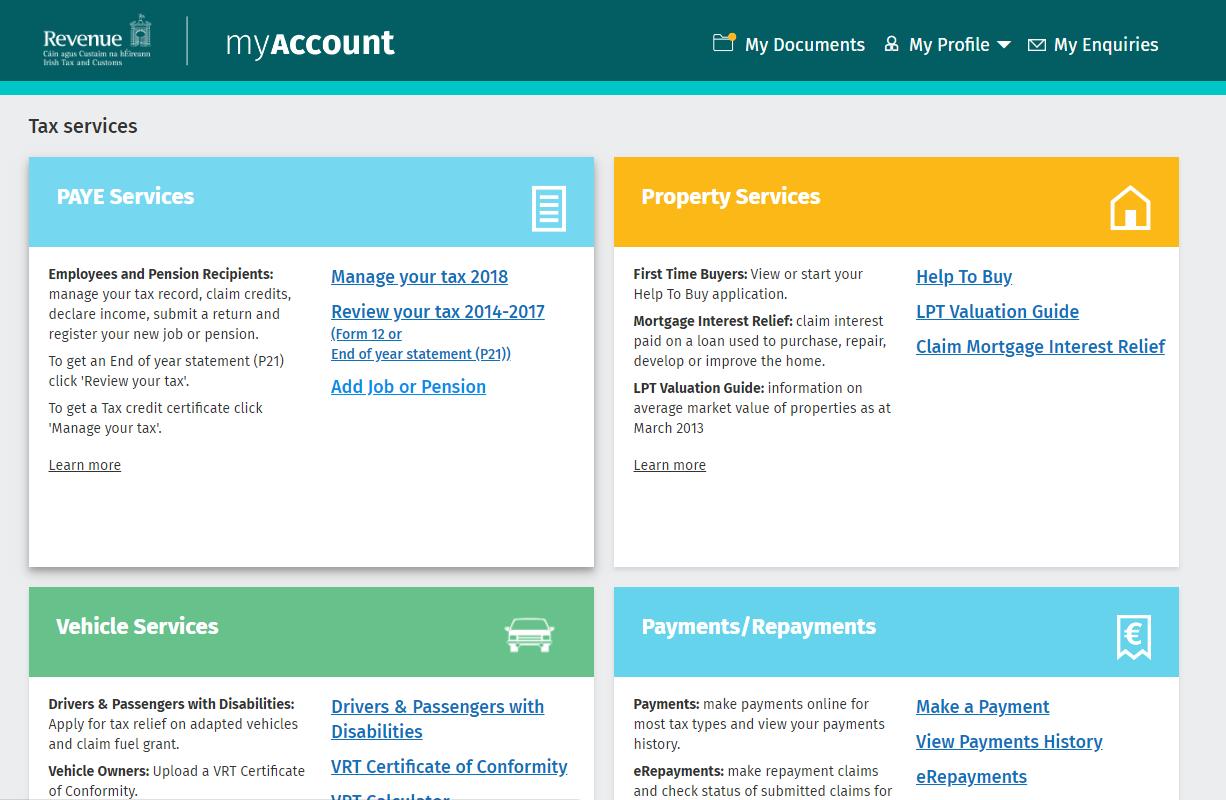 Ao acessar a sua conta, você terá a opção ADD Job or Pension