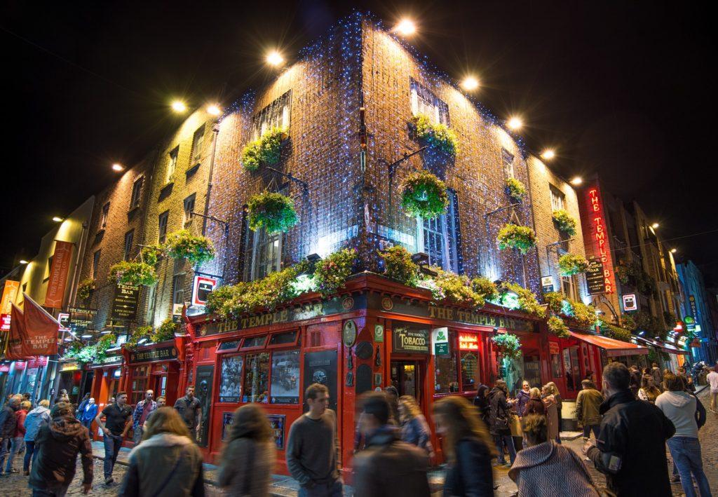 Temple Bar is located in Dublin 1. Central area of Dublin.